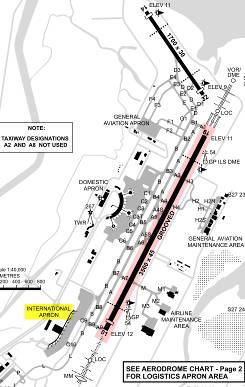 Brisbane Ground Map